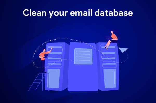 Mail merge tip: clean your email database