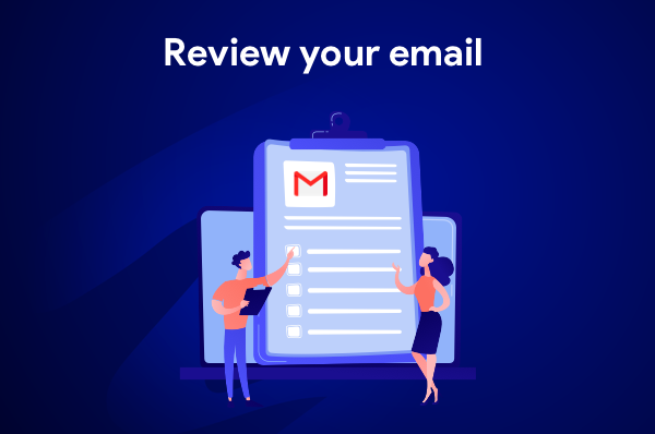 Mail merge tip: review your emails before sending
