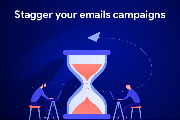 Mail merge tip: stagger your email campaigns