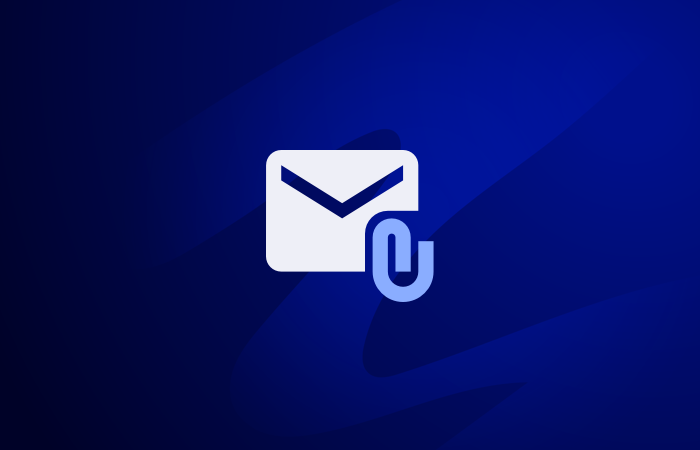 Add attachments in mail merge